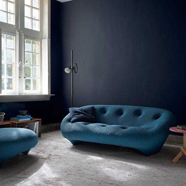 Ronan and Erwan Bouroullec for Ligne Roset quilted-weave Ploum sofa, £2,897