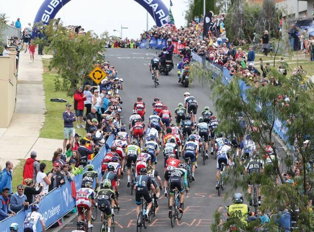 The Cadel Evans Great Ocean Road Race in Geelong