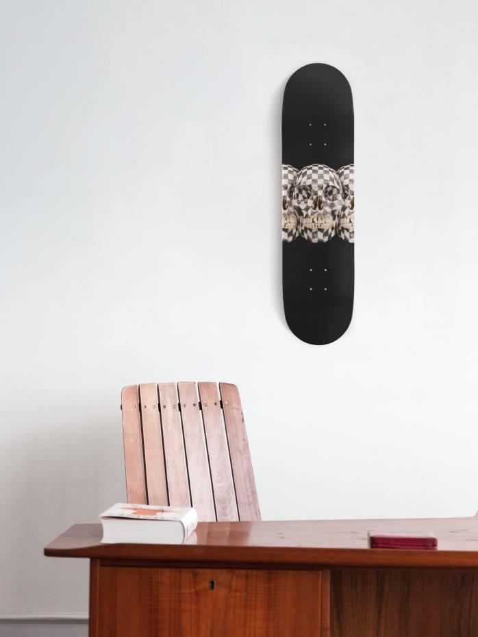 Gabriel Orozco and The Skateroom's Black Kites skateboard,$350
