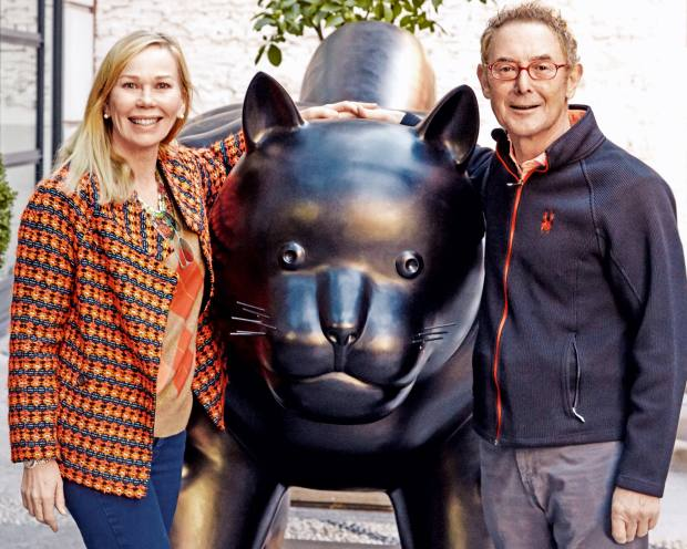 Firmdale Hotels co-founders Kit and Tim Kemp