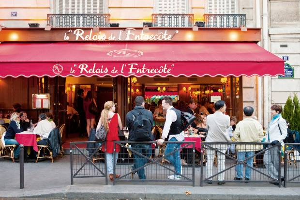Relais de l'Entrecôte in Paris
