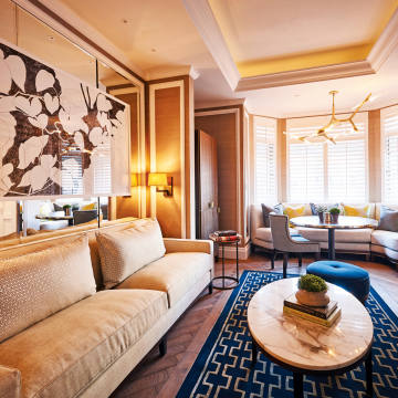 A suite at the five-star Belmond Cadogan, London
