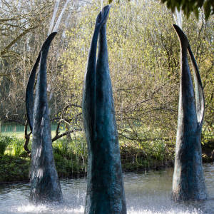 Alison Berman's Figure Fountain Three, £15,000