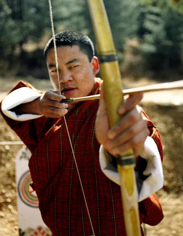 Archery is the national sport of Bhutan.