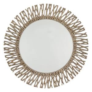 Sweetpea & Willow Limoux Champagne mirror (101cm diameter) in resin, £295