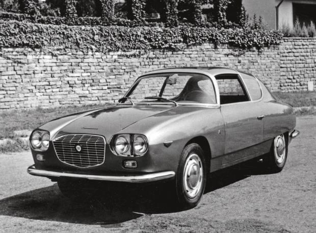 A Lancia Flavia Sport Zagato 1800