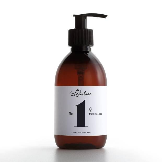 Lederhaas No 1 frankincense wash, €24 for 300ml