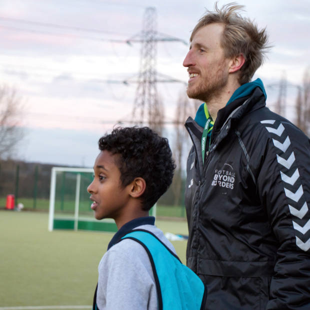 Football Beyond Borders' co- founder Jack Reynolds