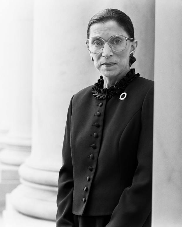 Michael-O'Neill,-Ruth-Bader-Ginsburg