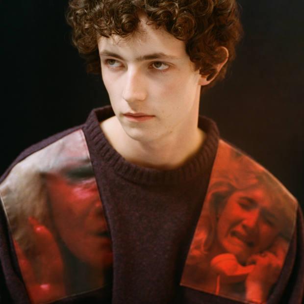 Raf Simons's autumn/winter 2019 knitwear featured David Lynch film stills