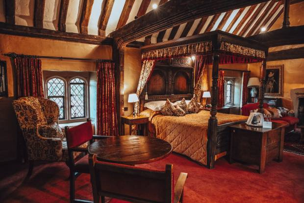 Rooms, from £265, are rich in brocade, tapestry and marble – some have four-poster beds