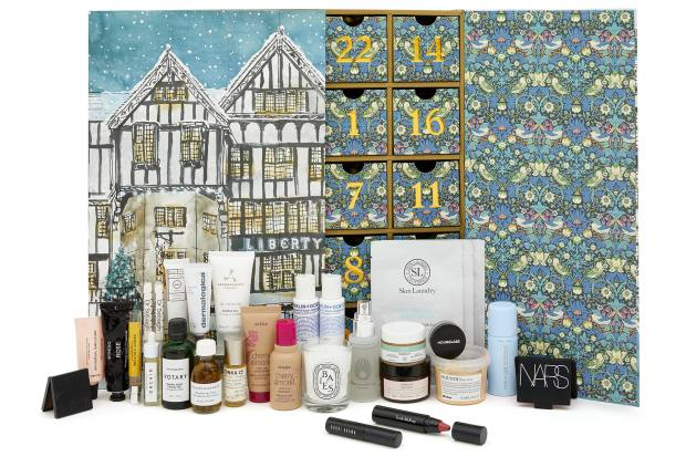 There are 18 full-sized beauty products in Liberty's advent calendar, £215