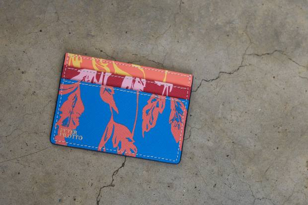 Peter Pilotto leather card-holder, £80
