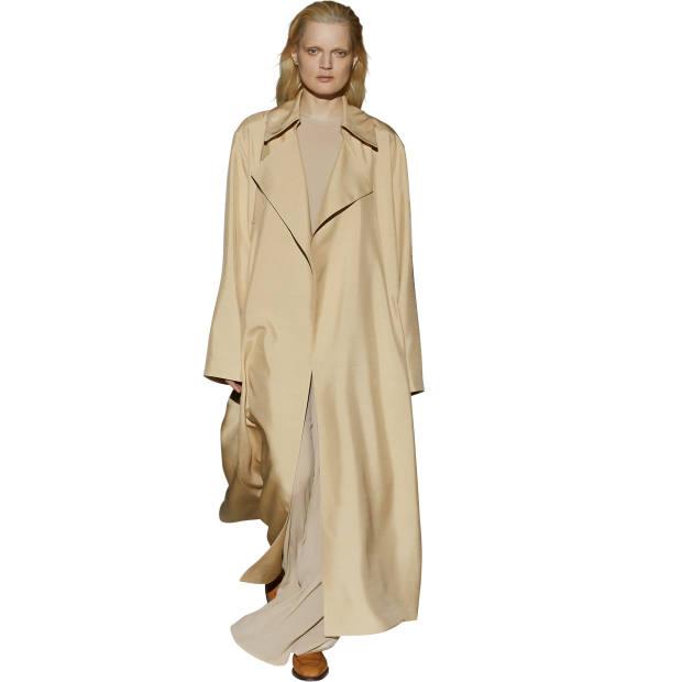 The Row shantung silk coat, €4,170