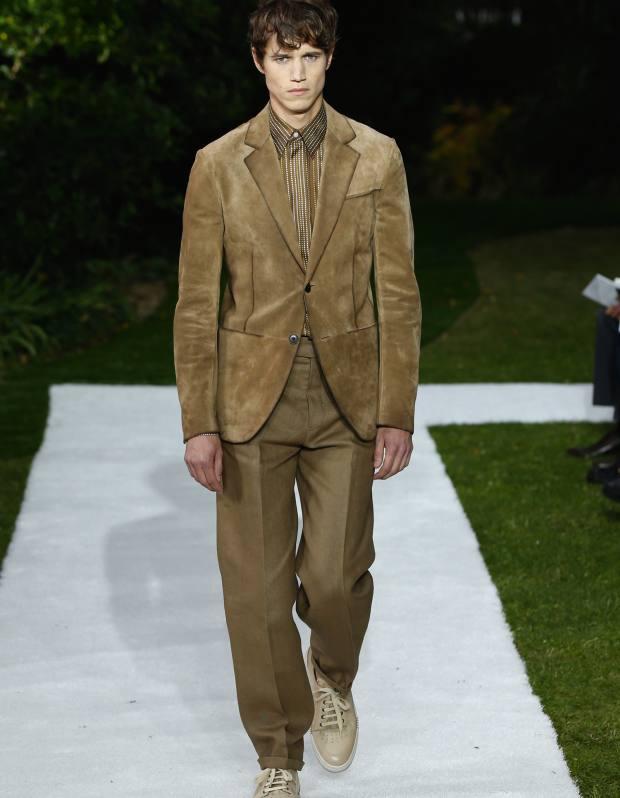 Berluti suede jacket, £3,345