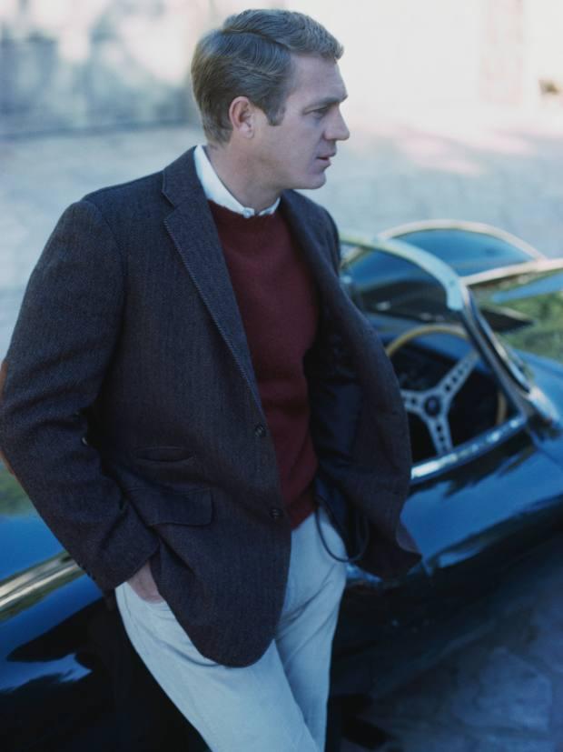 Steve McQueen – Büsser's style icon