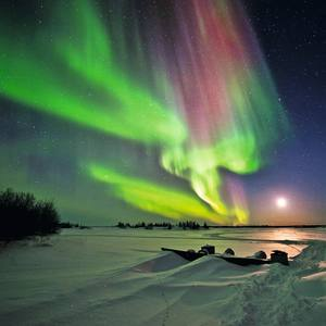 The Northern Lights in Canada's Yukon territory