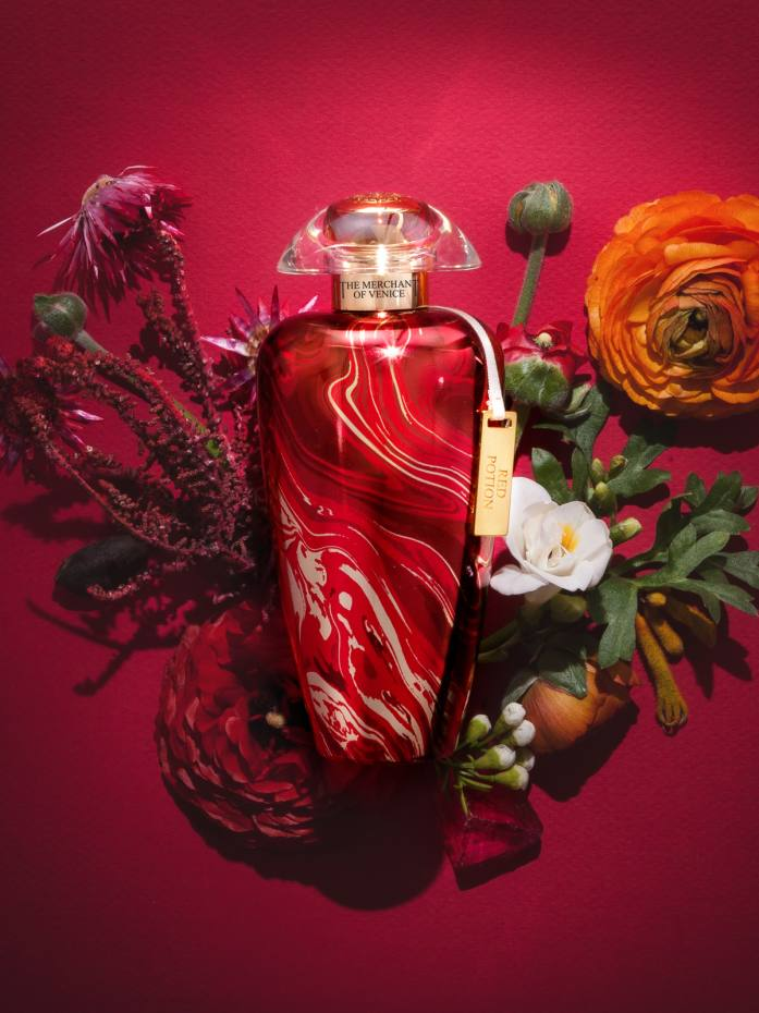 The Merchant of Venice Red Potion, £180 for 100ml EDP
