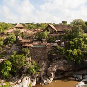Mwiba safari camp in Tanzania
