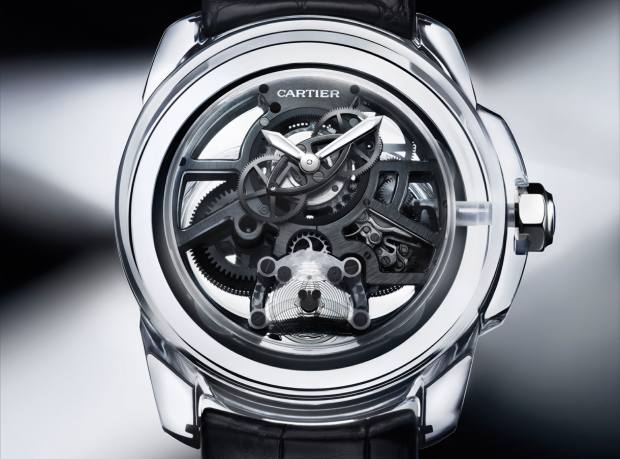 "Cartier ""Ceramyst"" ceramic ID Two concept watch"