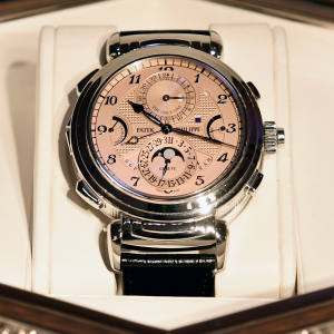 The Grandmaster Chime features 20 complications and five chiming modes