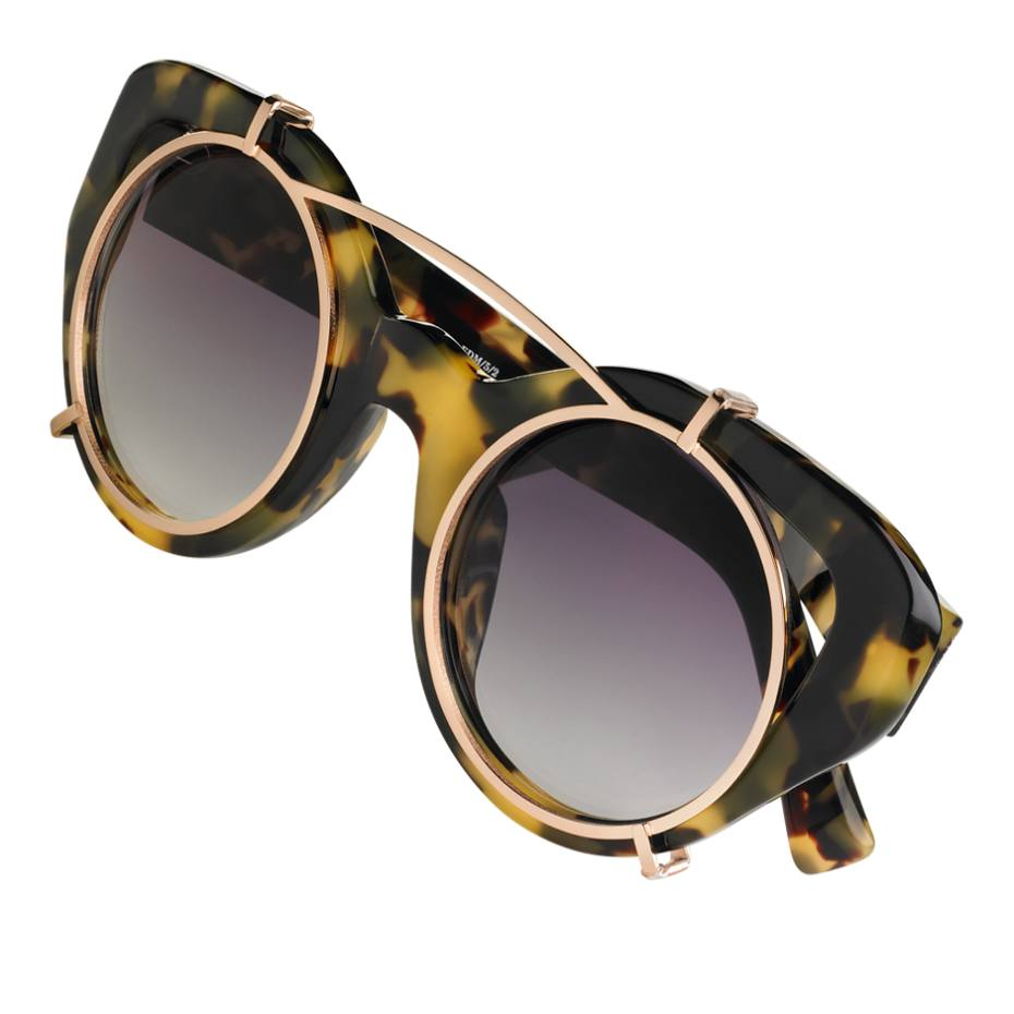 Linda Farrow for Erdem sunglasses, £255. Also in other colours