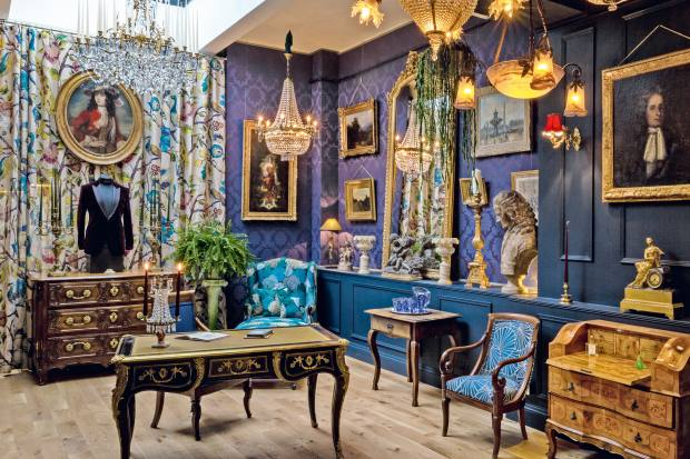 TheLondon tailoring and antiques shop Labassa Woolfe