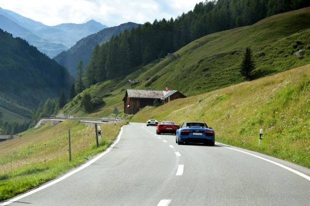 The tailormade nine-day trip covers 1,000km of Alpine road