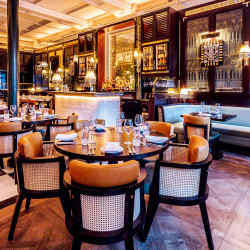 Jamavar is the first restaurant outside India to be opened by the Leela Palace hotel group