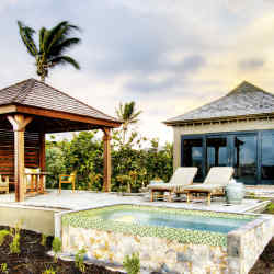 One of the luxury residential options at Christophe Harbour in Saint Kitts.