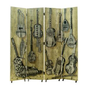 1954 wood Musical Instruments screen, £18,500 from Themes & Variations