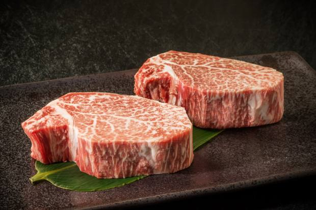 Japanese Wagyu fillet steaks from Meat Me At Home