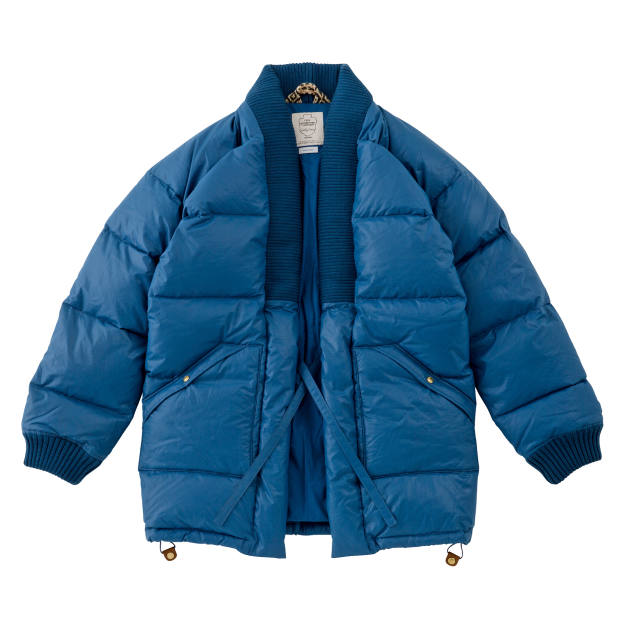 Visvim nylon and down Dotera coat, $3,005