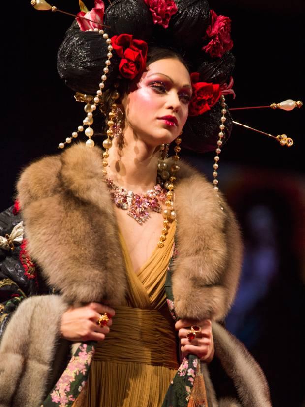 Dolce & Gabbana Alta Moda 2019 at La Scala, Milan