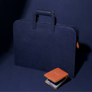 Billy Tannery kid leather Cecil's case, £2,495