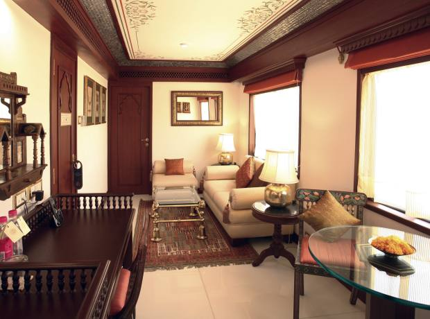 The Maharajas' Express Presidential Suite.
