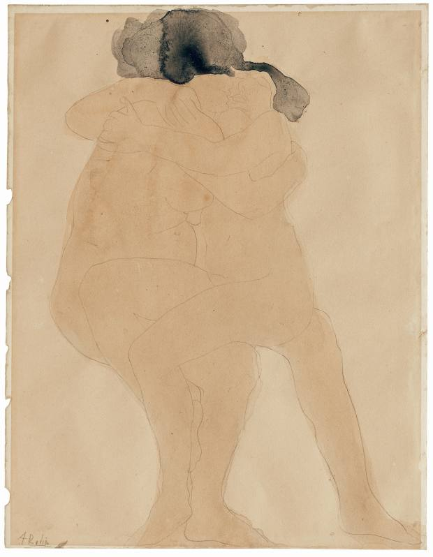 Le Baiser des Femmes by Rodin, estimated at £6,000-£8,000