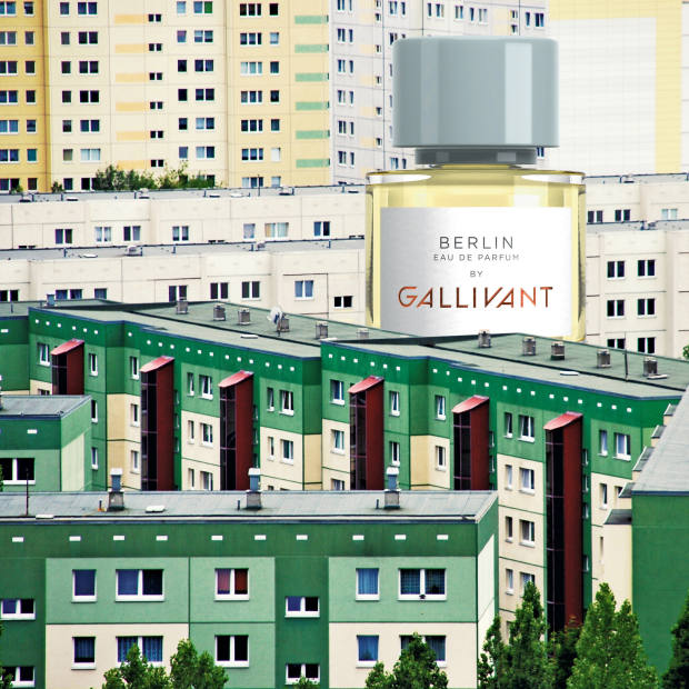 Gallivant's Berlin, £65 for 30ml EDP, conjures modern-day bohemians living in the city's brutalist apartment blocks