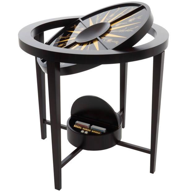 Alexandra Llewellyn Palm Ebony games table, £18,420
