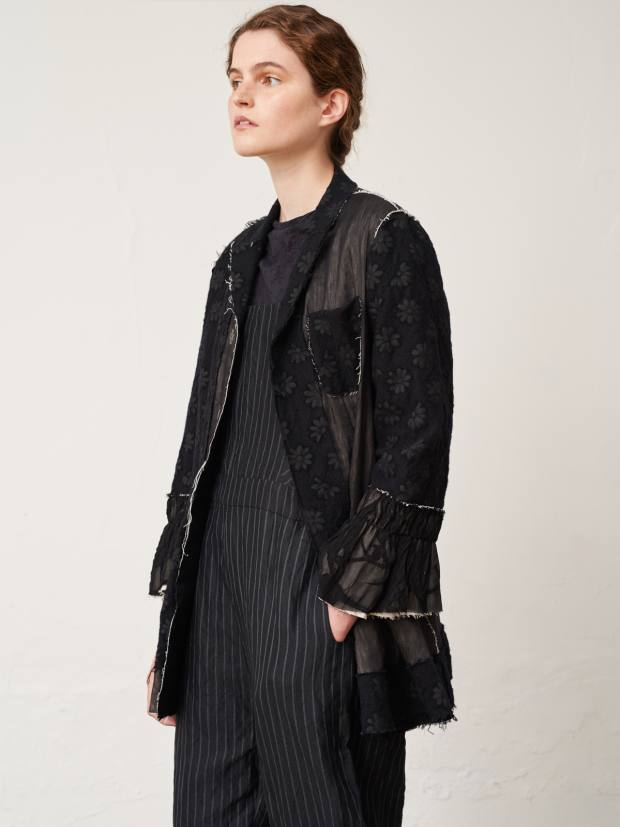 Renli Su wool, cotton and tulle jacket, £1,040