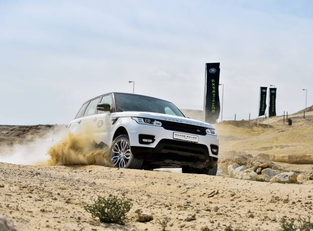 The testing off-road Land Rover Experience
