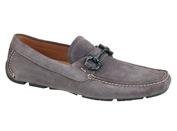 Salvatore Ferragamo suede shoes, from £520. Made to order