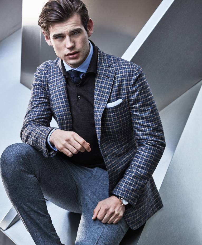 Brooks Brothers cashmere/silk jacket, £1,215