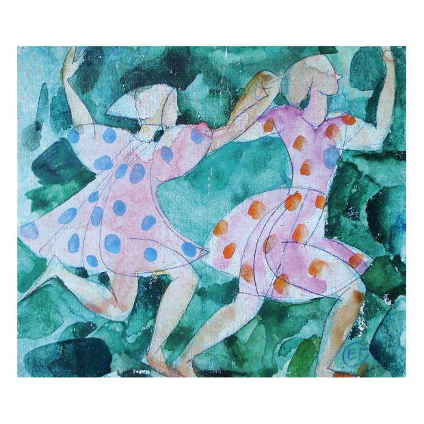 Dancing Girls by Elena Gorokhova, £680, from the Lacy Gallery
