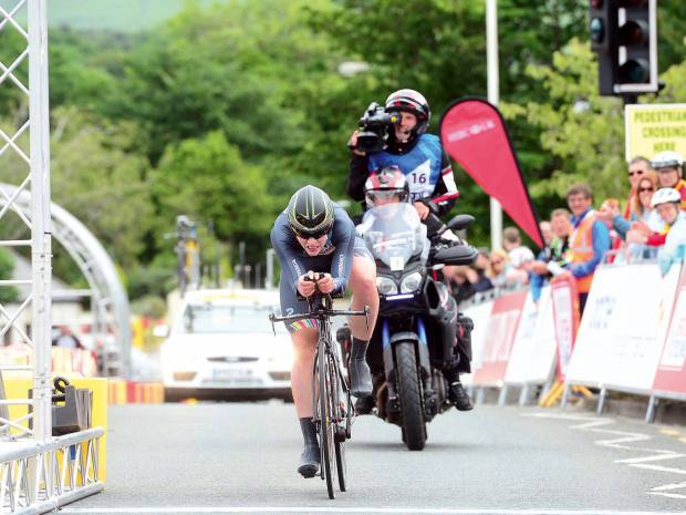 Claire Rose is the 2017 British National Time Trial champion