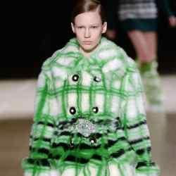 Miu Miu faux-fur coat, £2,480