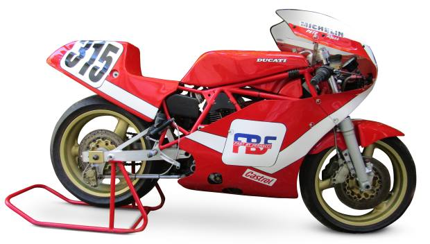 Double championship-winning 1985 Ducati NCR 850. Expected to realise up to $120,000