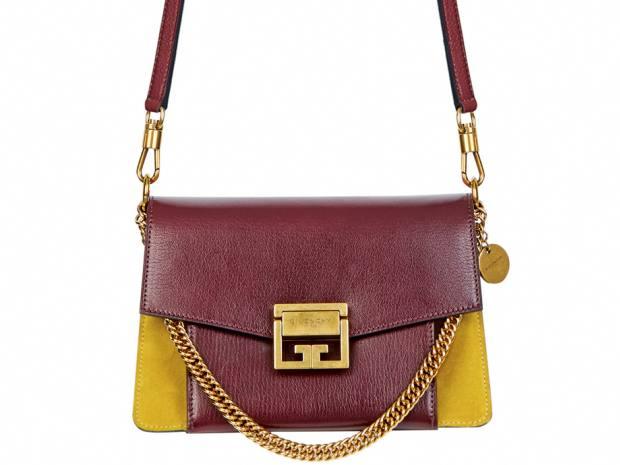 Givenchy goatskin and calfskin GV3 handbag, €1,590