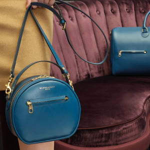 Gleneagles' leather-goods collection comprises bags, carryalls and accessories, including the London crossbody purse, £425