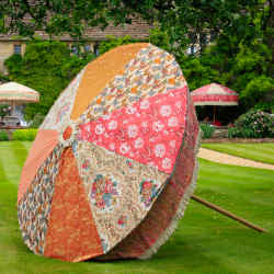 A bespoke parasol by Sunbeam Jackie